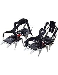 Stubai Sports Trekking Combi Crampons avec levier d'attache et anti-botte adhésive Blanc 930 g