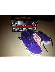 Vans - Zapatillas de skateboarding para niño púrpura Deep Purple