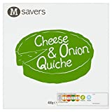 Morrisons Savers Cheese & Onion Quiche,400g