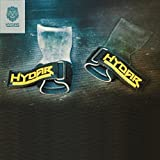 Hydar Strength Gewichtheber-Bandagen, Dual-Funktionalität von Handgelenkbandagen und Handschuhe, gepolstert - 5