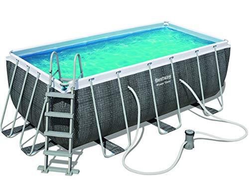 Bestway Power Steel Pool Set, Grey
