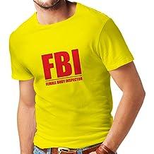 Camisetas Hombre Inspector del Cuerpo Femenino - Regalos Divertidos para los Hombres, Citas chistosas