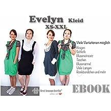 Evelyn Nähanleitung mit Schnittmuster auf CD für Jersey Kleid in 3 Längen Dress