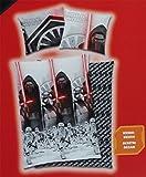 Star Wars VII Kylo Ren Bettwäsche 140 x 200 cm Bettbezug / 70 x 90 cm Kopfkissen / 100% Baumwolle / Trocknergeeignet