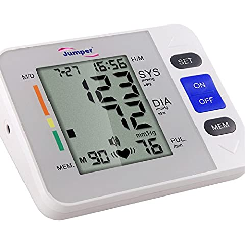 StarHealth 900A1 Automatic Digital Upper Arm Blood Pressure Monitor Heartbeat Detector by Jumper