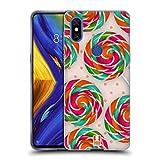 Head Case Designs Pfefferminzbonbon Spirale Lutscher Soft Gel Hülle für Xiaomi Mi Mix 3