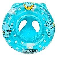V-SOL Flotador con Asiento para Bebés Barca de Piscina Niños Azul