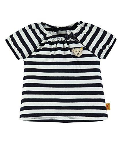 Steiff Collection Mädchen T-Shirt 1/4 Arm 6833221, Blau (Marine 3032), 110 (Marine-blau-mädchen T-shirt)