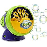 Machine à bulles Termichy automatique avec forte production, souffleur de bulles à batterie pour une utilisation intérieure / extérieure idéale pour une ambiance festive avec enfants