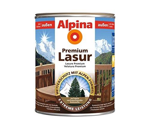 Alpina Dickschichtige Lasur mit UV- und Wetterschutz