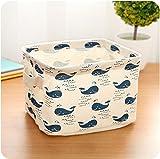 WopenJucy Wal Muster Aufbewahrungskorb für Das Badezimme