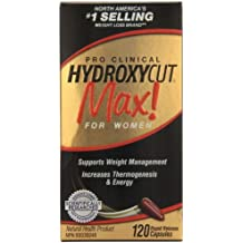 Muscletech pro clinical hydroxycut max! for women 120caps