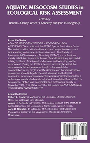 Aquatic Mesocosm Studies in Ecological Risk Assessment (Setac Special Publications)