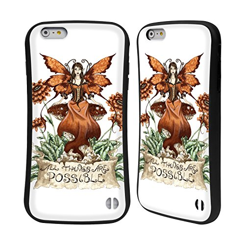 Ufficiale Amy Brown Speranza Fate 2 Case Ibrida per Apple iPhone 6 Plus / 6s Plus Tutte Le Cose Sono Possibili
