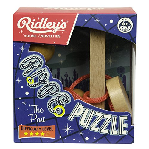 Ridley's Utopia Mini Rope Single Post Puzzle (12 Piece)