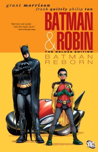 (Batman & Robin: Batman Reborn (Deluxe)) By Morrison, Grant (Author) Hardcover on (04 , 2010)
