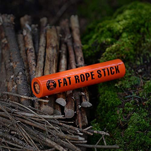 Fat Corde bâton ultime résistant aux intempéries Fire Starter Petit