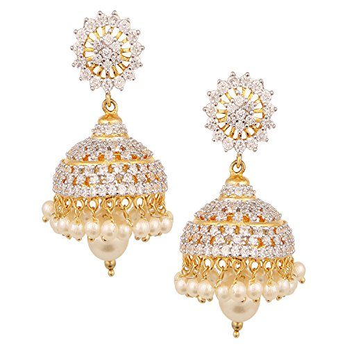 swasti-jewels-american-diamond-cz-fashion-jewellery-traditional-ethnic-pearls-jhumka-earrings-for-wo
