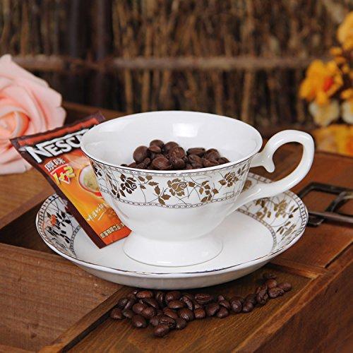 Su @ da alta qualità Bone China Coffee Cup/Rose/inglese/continentale/vintage//Ceramica/tazza di