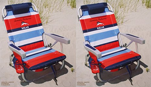 2-tommy-bahama-2015-backpack-cooler-chairs-with-storage-pouch-and-towel-bar-red-blue-by-tommy-bahama