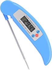 Generic Digital Cooking Thermometer Food Meat Milk Tester with Collapsible Internal Probe