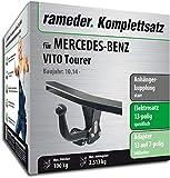 Rameder Komplettsatz, Anhängerkupplung starr + 13pol Elektrik für Mercedes-Benz VITO Tourer (154217-13078-1)