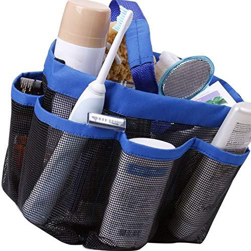 Oxford Quick Dry Hanging Mesh-Dusche Caddy Toilettartikel/Bad Organizer mit 8 Speicherfächer Sunlera