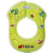 Ibanana - Flotador ajustable inflable para bebés (8 meses a 2 años), ...