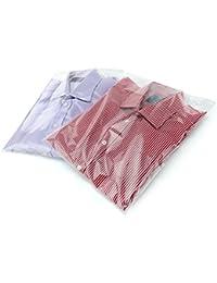 Hangerworld 20 Bolsas 30x40cm para Camisas y Camisetas Comercios Proteción Antipolvo