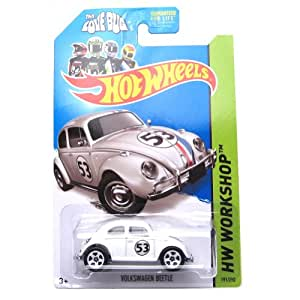 buy hot wheels 2014 volkswagen beetle herbie the love. Black Bedroom Furniture Sets. Home Design Ideas