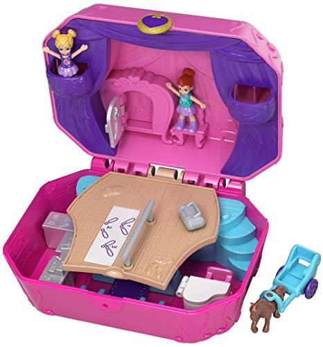 Polly Pocket Cofre Caja de Música, muñeca con accesorios (Mattel CGJ88)