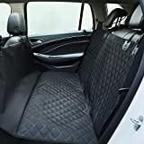 Super High Quality Waterproof Car Travel Accessories Waterproof Car Seat Cover for Pets Dogs Four Different Colours Clouds Seat Covers Supply Oxford Pet Dog Hammock Style Fits Most Cars Seat Cushion 150*130*55 cm (Dark Black)