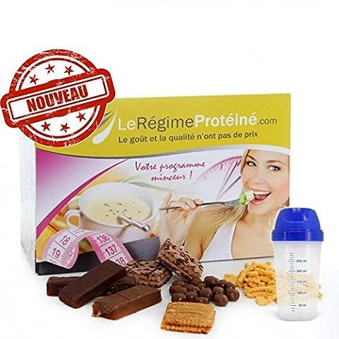 BOX MINCEUR 28 jours 84 produits + shaker offert - Régime Protéiné