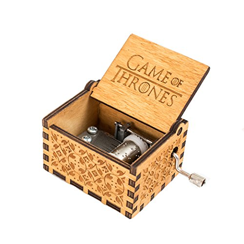 """Reine Hand Klassische Star Wars und """"Game of Thrones Classic DIY"""" Spieluhren, Holz Spieluhren Kreative Holz Hand Beste Geschenke (Game of Thrones)"""