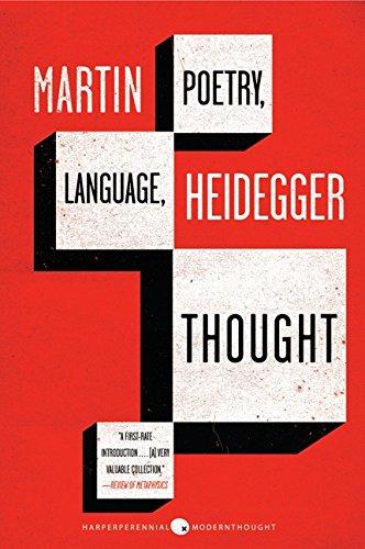 Poetry, Language, Thought (Harper Perennial Modern Thought) por Martin Heidegger