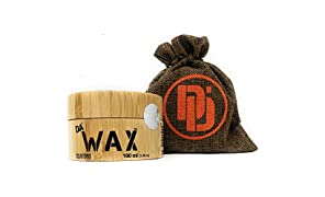 Da'Dude Da'Wax Best-Hair-Wax-for-Men Matte Mens-Styling in Bamboo Gift Tub 100ml