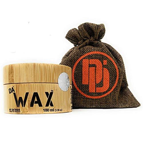 Da'Dude Da' Wax Sarker Halt Haarwax Matt Finish - Das bestes Haarwachs Herren Produkt erstmals in einem Holztiegel und Geschenkbeutel