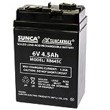 Best Baterías recargables - Bateria Recargable Sunca 6V 4,5 Ah 10.5 x Review
