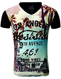 Tee shirt noir Los Angeles