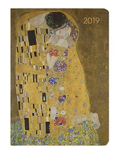 Ladytimer Klimt 2019 - Taschenplaner / Taschenkalender A6 - Weekly - 192 Seiten - Notizen