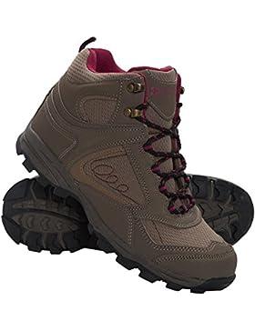 Mountain Warehouse Mcleod Bequeme Stiefel für Damen - Atmungsaktive Stiefel, strapazierfähige Wanderstiefel, gepolsterte...