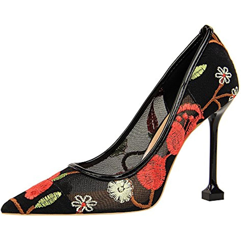 Escarpins Femmes à Talons, Mince Chaussures à Talons pour Femmes Femmes  pour à Bouts Ronds ee429805d216