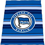 Hertha Fleecedecke Stripes