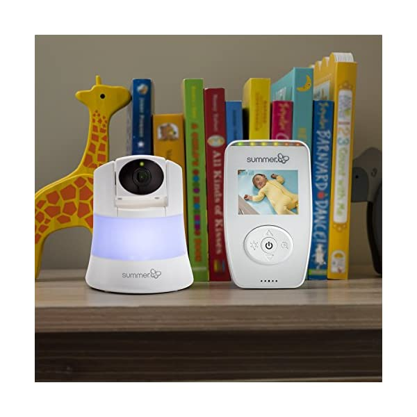 Summer Infant Sure Sight Number 2.0 Digital Video Monitor  100% digital technology for privacy and security Range up to 240m Nursery temperature display on screen 3