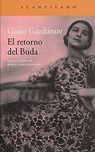 El retorno del Buda par Gaito Gazdánov