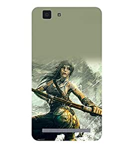 A2ZXSERIES Tomb Raider Game Back Case Cover for  Vivo X5 Max / VIVO X5MAX