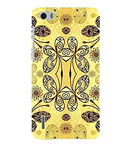 For Huawei Honor 6 summer holidays ( summer holidays, good quotes, hat, yellow background ) Printed Designer Back Case Cover By TAKKLOO