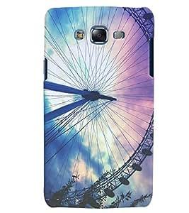 Citydreamz Abstract Wheel Design Hard Polycarbonate Designer Back Case Cover For Samsung Galaxy J7