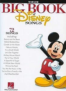 The Big Book Of Disney Songs - Violin