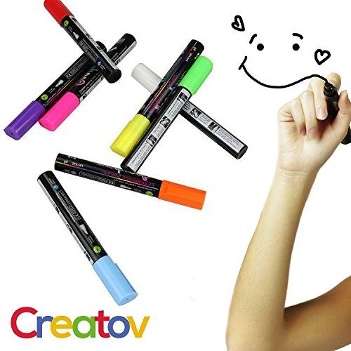 tiza-liquida-lavable-marcadores-8-marcadores-de-tiza-de-colores-neon-color-blanco-y-seguro-y-facil-d